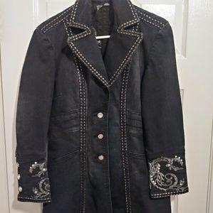 Ethyl(long) denim coat